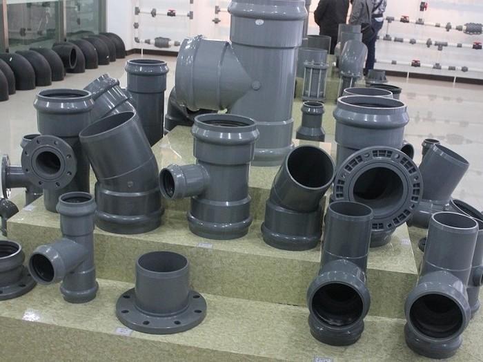 Фасонные изделия для напорной трубы ПВХ