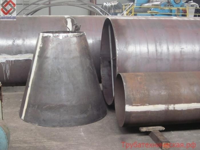 Изготовление труб (обечайка) и фасонных частей