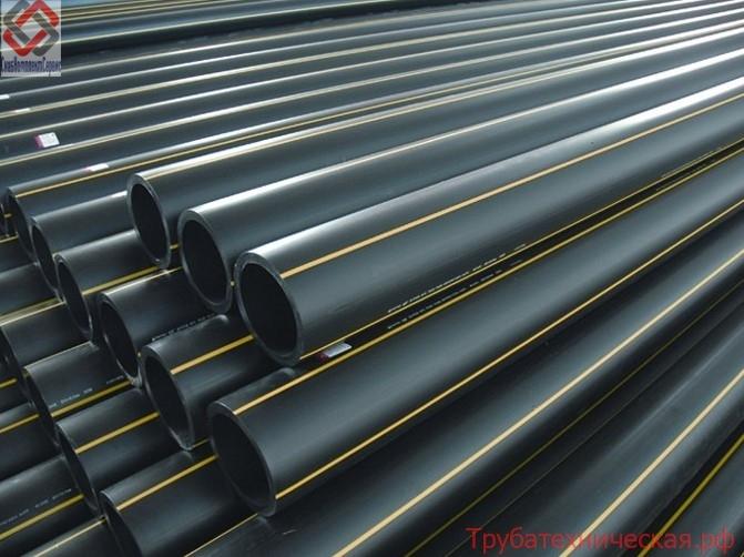 Труба ПНД ГОСТ для газопроводов