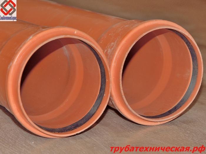 Труба НПВХ для канализации диаметр 50-200 мм