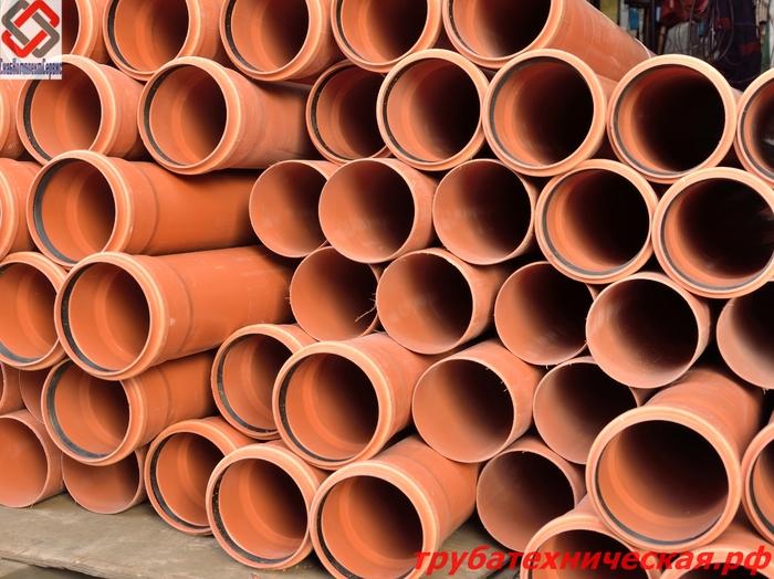 Труба ПВХ безнапорная (канализационная)