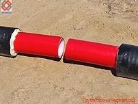 Труба ТВЭЛ-ПЭКС-К, ТВЭЛ-ПЭКС-2-К; комплект гидравлического инструмента для монтажа труб