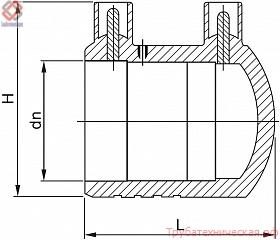 Заглушка электросварная PE100 SDR 11